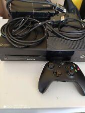 Microsoft Xbox One 500GB Consola de Sobremesa - Negra con caja y juegos