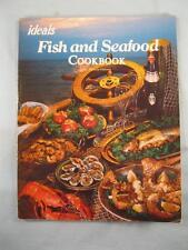 Ideals Fish And Seafood Cookbook Vintage Book Copyright 1979 Pat Hansen (O2)