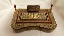 """Radin Rugs. Persian Middle Eastern khatam Pen Holder Set,6"""" x 9"""", BRAND NEW"""