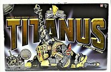 Mighty Morphin Power Rangers Limited Black Legacy Edition Titanus NIOB