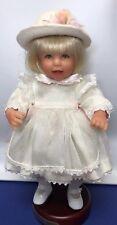 "11� Lee Middleton Dolls Miniatures ""American Beauty� Reva Schick Coa W/ Box"