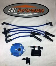 JEEP YJ XJ 2.5L 4CYL IGNITION TUNE UP UPGRADE KIT BLUE Wrangler Cherokee 91-93