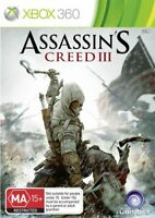 Assassins Creed III Xbox 360 - Complete With Manual