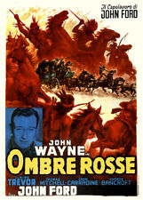 WESTERN JOHN WAYNE STAGECOACH CHEVAUCHEE FANTASTIQUE 1939  ITALIENNE ENTOILEE