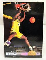 1993 Classic Draft Picks - LP #LP1 - CHRIS WEBBER Michigan Wolverines #'ed/74500