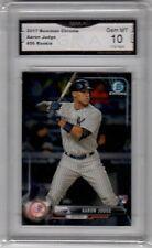 Aaron Judge RC 2017 Bowman Chrome #56 GMA Graded 10 Yankees Baseball Rookie