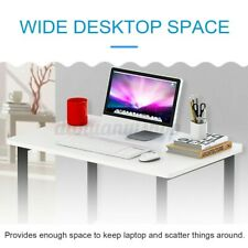 US Wooden Computer Laptop Table Study Desk Office Furniture PC Workstation Home