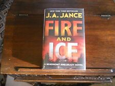 FIRE & ICE by J. A. Jance, SIGNED, 1st ed/1st printing (2009, Hardcover)
