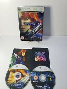 Perfect Dark Zero Limited Collector's Edition Steelbook XBOX 360 *complete*