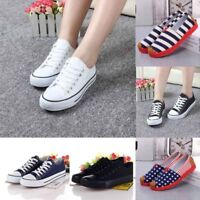 Women Classic Sneakers Campus Loafers Canvas Slip-On Flats shoes Lazy shoes size