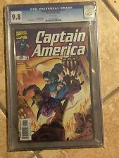 CAPTAIN AMERICA Vol. 3 #7 cgc 9.8 SKRULL Invasion Fantastic Four Appearance