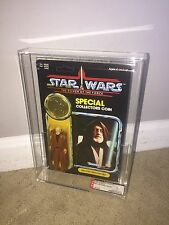 AFA 85 Kenner 1985 Star Wars Ben Obi Wan Kenobi POTF 92-back NM+ 85-90-90
