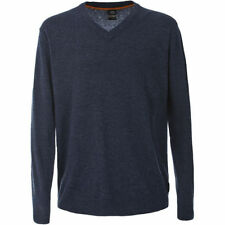 Wool Patternless Long Jumpers & Cardigans for Men