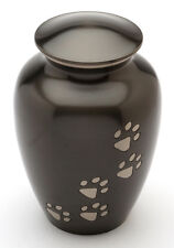 """Matlock Black 6"""" Cremation Ashes Small Pet Urn"""