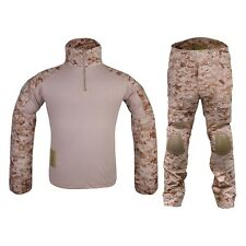 EMERSON COMBAT TACTICAL SUIT AOR1 ACT OF VALOR Tg S M L XL XXL SOFTAIR AIRSOFT