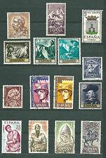 ESPAÑA 1961-1964 LOTE DE 39 USADOS