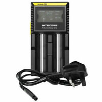 NITECORE D2 Battery UNIVERSAL Charger 100% Authentic WITH NITECORE WARRANTY