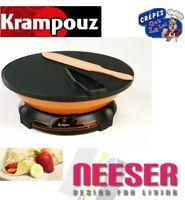Krampouz elektrisches Crepemaker Crepegerät Brombeer Ø 33cm vom Fachgeschäft