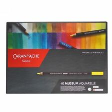 CARAN D'ache Museum Aquarelle set matite acquerello Soft - 40 Colori Box