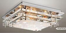 LED Deckenleuchte Deckenlampe Designlampe in 3 Stufen, 40x40x12cm