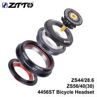 ZTTO 4456ST Mountain Bike Internal Headset 44mm 56mm Tapered Tube fork Straight