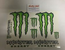 Kit adesivi Monster Energy - foglio grande - sticker - Tabella adesivi monster
