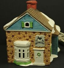 Department Dept 56 1986 New England Village Apothecary Ceramic House 65307