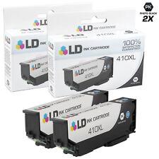 LD REMAN Epson T410XL120 Photo Black Ink Set of 2 for XP-530, XP-630, XP-640