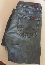 7 Seven For All Mankind Womens Flare Jeans Size 24