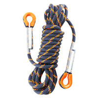 5m 8MM Safety Rock Climbing Auxiliary Rope Sling Hiking Rescue Rappelling Cord