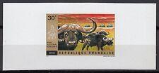 Rwanda Sc445 Wildlife, Animal, Buffaloes, Deluxe Proof