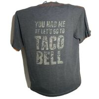Taco Bell 1970s Vintage Mascot RINGER Tee FREE S/&H Fast Food