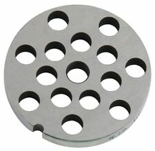 """#12 x 3/8"""" holes STAINLESS Meat Grinder Mincer plate disc screen Hobart LEM etc"""
