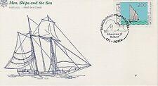 PORTUGAL 1977 6 FIRST DAY COVERS - COASTAL FISHING BOATS - BARK - SKIFF