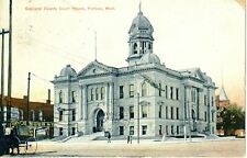1909 The Oakland County Court House in Pontiac, MI Michigan PC