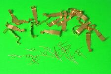HO Slot Car Parts WIDE PAN Tyco 440 / 440x2  20 Pickup Shoes & 20 SPRINGS New !!