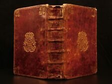 1678 Holy Week Catholic Breviary Missal Illustrated French Moroccan ARMORIAL