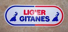 Autocollant Sticker LIGIER GITANES Vintage