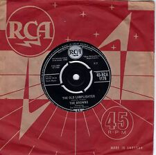 7inch THE BROWN the old lamplighter UK EX+