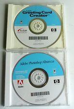 Two Card Programs - Adobe Photoshop Album 2 & ArcSoft Greeting Card Creator