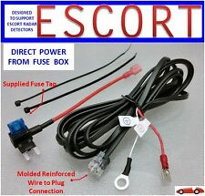 ESCORT, BELTRONICS Radar Detector  Direct Power Cord from Fuse Box     (DP-ESCT)
