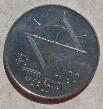 100 Lire Rep.ca Italiana Guglielmo Marconi 1874 / 1974  - SPL - n. 883