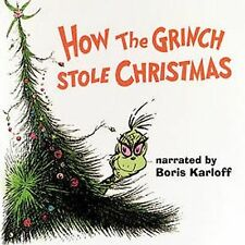 How the Grinch Stole Christmas Original Soundtrack CD Thurl Ravenscroft B Karlof