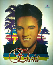 Elvis licensed 1984 vintage retro tshirt transfer print new, NOS