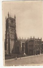 Cirencester Church from S.W. Gloucestershire Postcard, A676