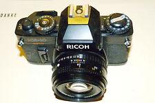 Ricoh KR 10 Super  + 1.7 / 50mm Rikenon SLR für Sammler + Bastler