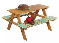 Florabest Kids Picnic Wooden Table