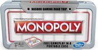 Hasbro Monopoly Road Trip Portable Monopoly Travel Monopoly Family Fun Holidays