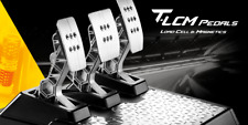 Thrustmaster T-LCM Pedals Pedaliera Magnetica con Sensore di Forza - Nero/Argento