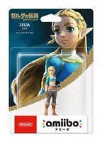 Amiibo The Legend of Zelda Breath of The Wild Zelda Wii U Switch Figure Japan